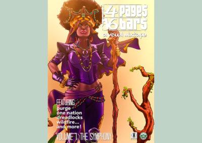 4 PAGES 16 BARS: A VISUAL MIXTAPE VOL. 01 – THE SYMPHONY